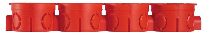 Коробка монтажная установочная для сплошных стен КУ1104